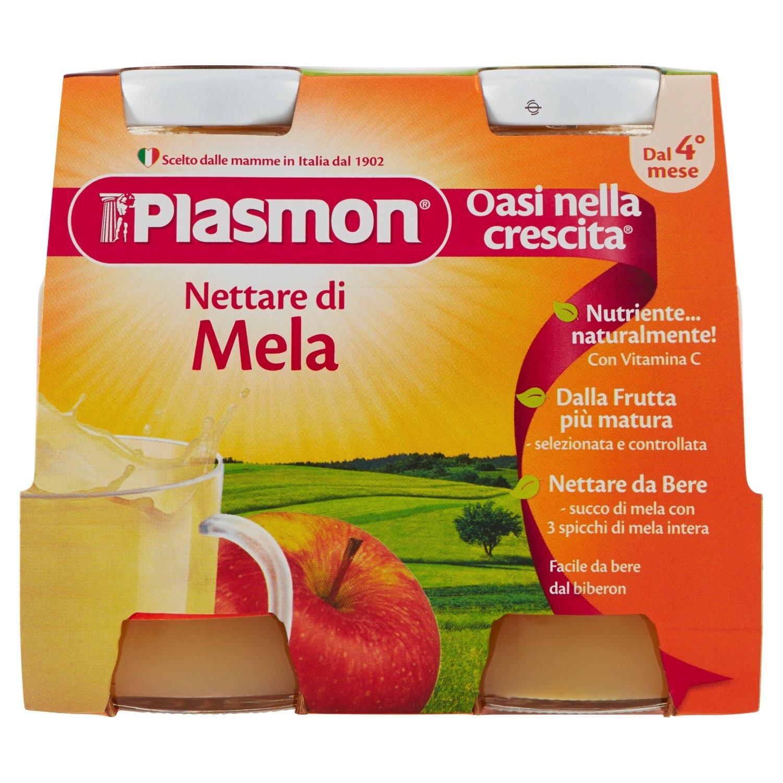 Plasmon Babyfruit Apple Juice (4x125g)