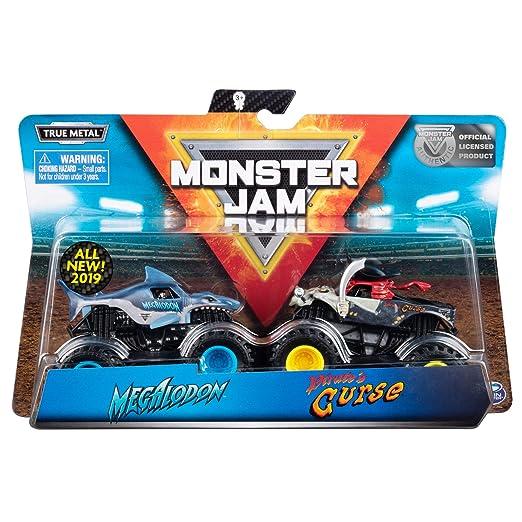 Monster Jam Pack Doble 1:64, Modelos Surtidos (Bizak 61925872): Amazon.es: Juguetes y juegos