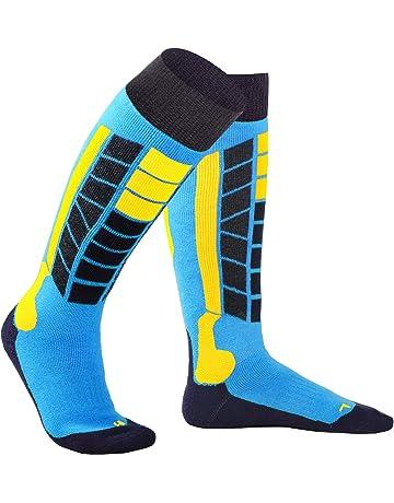 16249a81d Soared Winter Ski Socks Snowboard Snow Warm Knee Over The Calf OTC High  Performance 2 Pairs