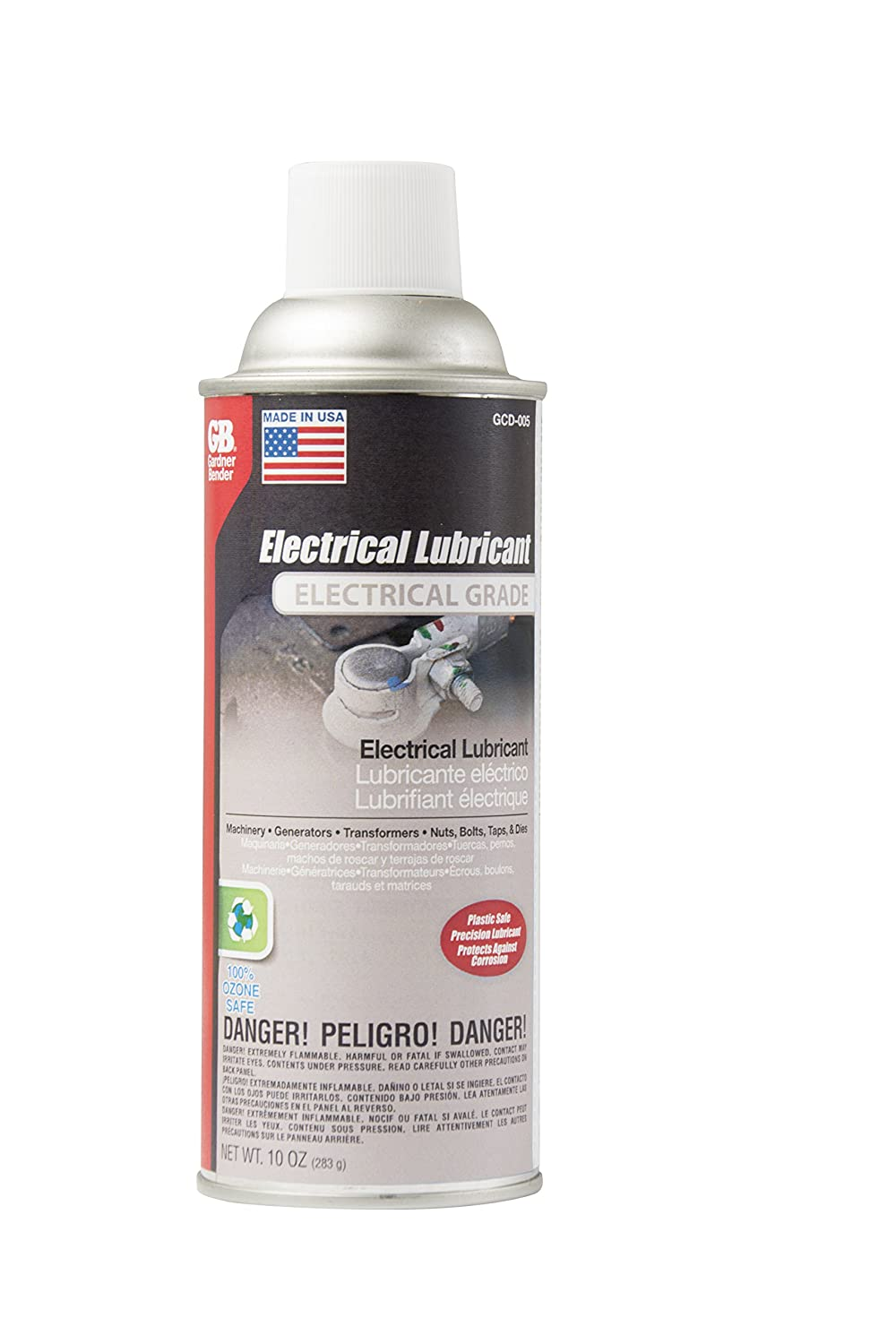 Amazon.com: Gardner Bender GCD-005 Electrical Lubricant, Prevents & Repairs Corrosion, Can: Home Improvement