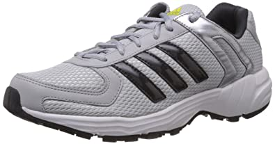 34e688bfa69f Image Unavailable. Image not available for. Colour: Adidas Men's Galba  Silver Grey and Black Mesh Running Shoes ...