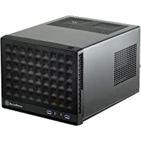 SilverStone Technology SST-SG13B Sugo Series Mini-ITX Computer Case with Mesh Front Panel, Black,SG13B-USA