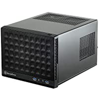SilverStone Technology Ultra Compact Mini-ITX Computer Case with Mesh Front Panel...