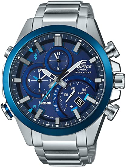 Casio Edifice EQB-500DB-2AJF - Reloj con Bluetooth y funciones inteligentes: Amazon.es: Relojes