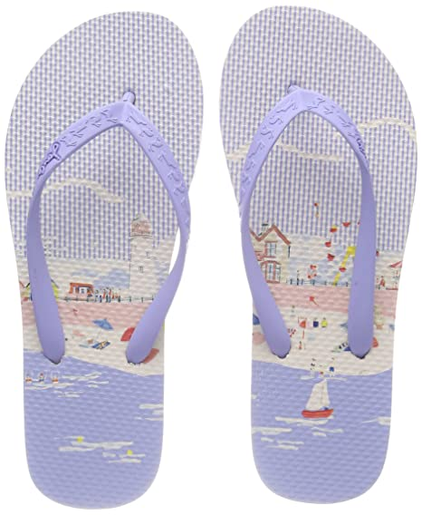 c0f163cbbb19c4 Joules Printed Flip Flops - Pink Flamingo Stripe  Amazon.ca  Sports ...