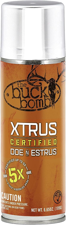 Buck Bomb Xtrus Enhanced Estrus Hunting Scent
