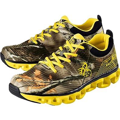 Legendary Whitetails Mens Hunt Bum Hiking Shoes Camo  Yellow  B06Y388NKP