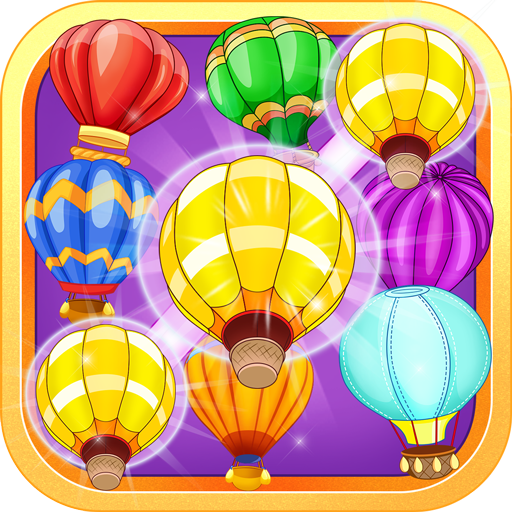 Hot Balloon: Match 3 (Balloon Splash)