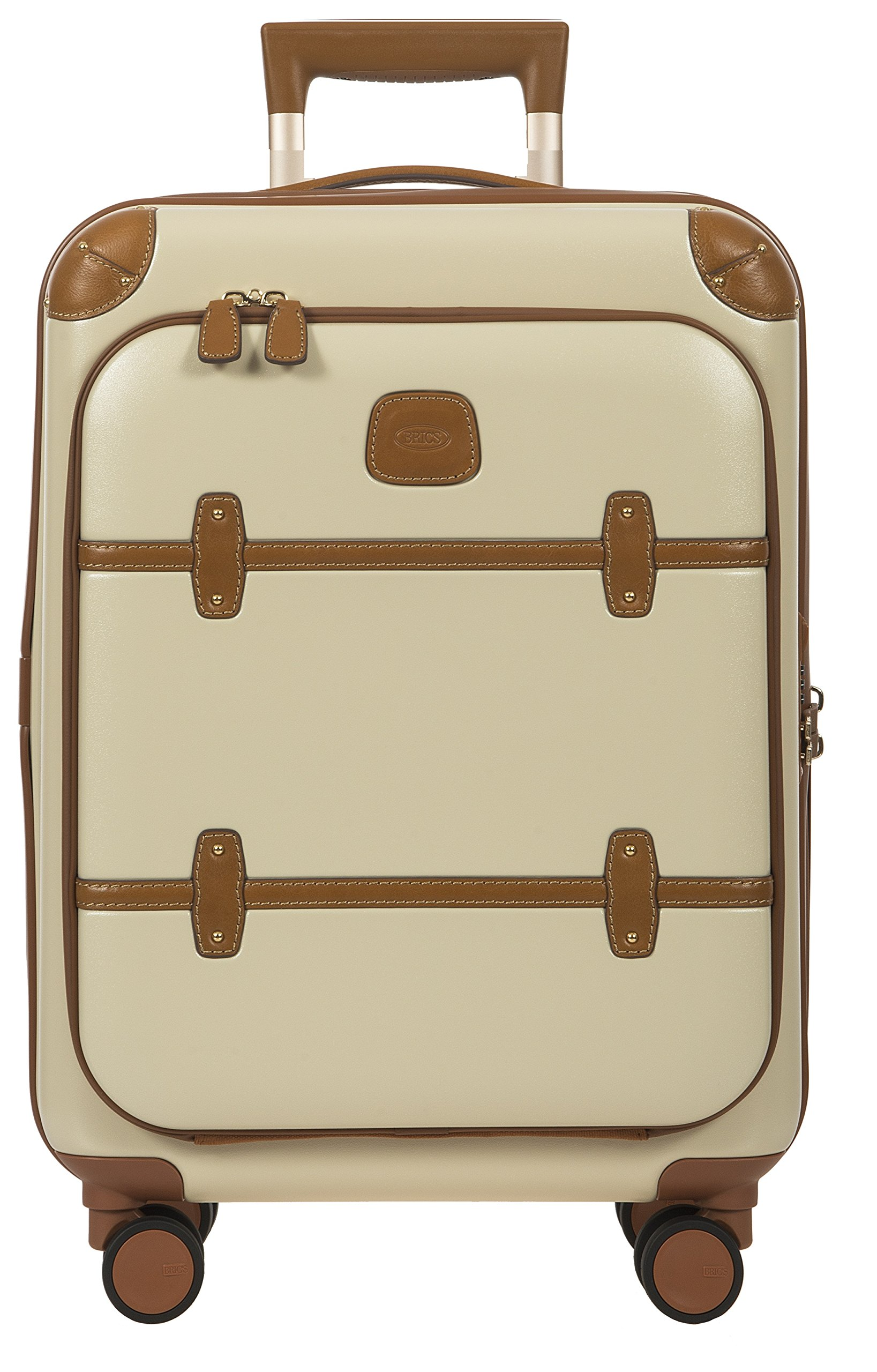 Bellagio 2.0 Ultra Light 21 Inch Carry On Business Spinner Trunk with Pocket