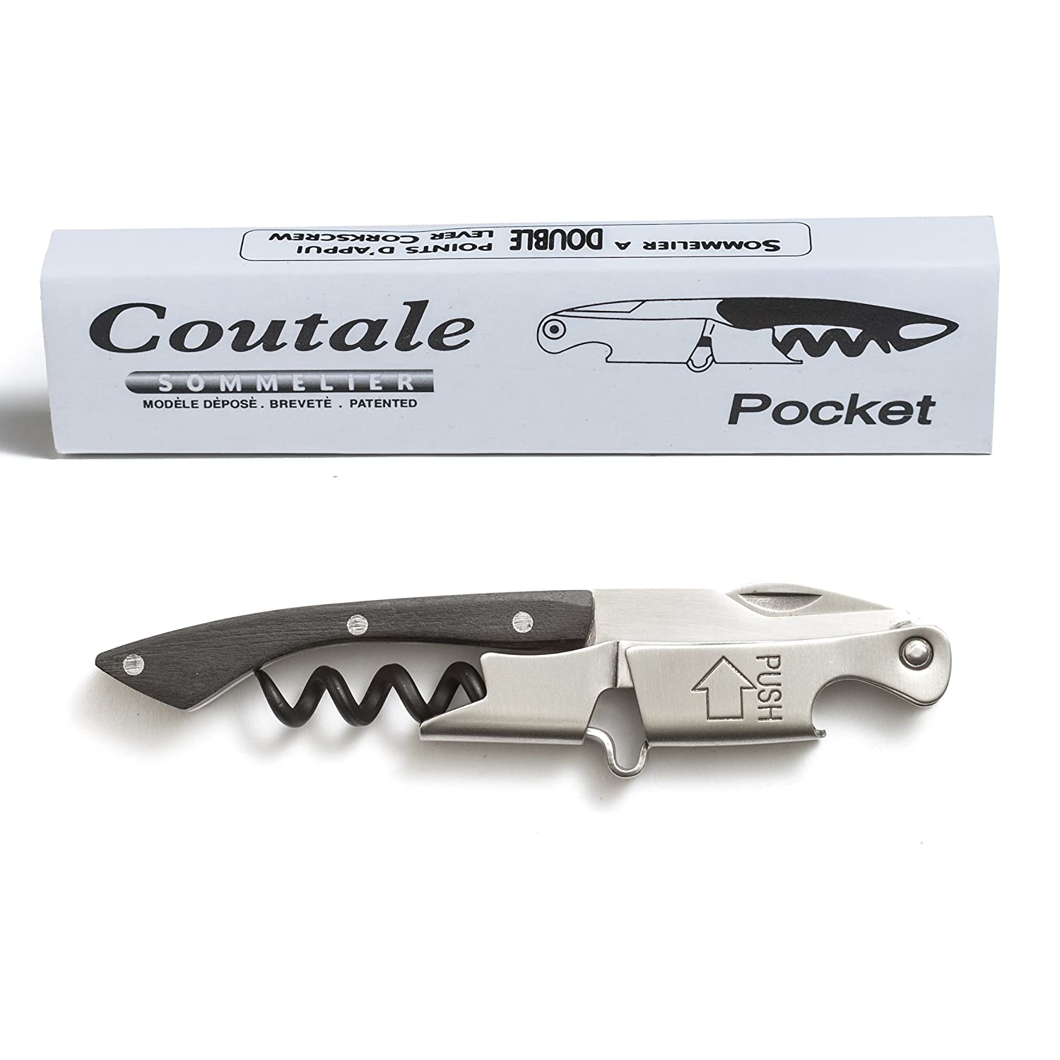 Plastic handle Stainless Steel Fixtures Premium by Coutale Sommelier