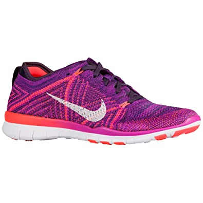 Nike Free TR Flyknit Hyper Violet Womens Running Training Shoes Size 9