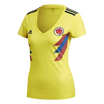 2392f127ad7 World Cup Soccer Womens 2018 FIFA World Cup Colombia Home Jersey ...