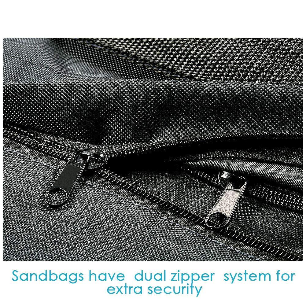 Ocamo Sandbag, 2/12 Pcs Sandbag Photographic Sand Bag for Photo Light Stand Boom Arms Tripod 12PCS by Ocamo (Image #3)