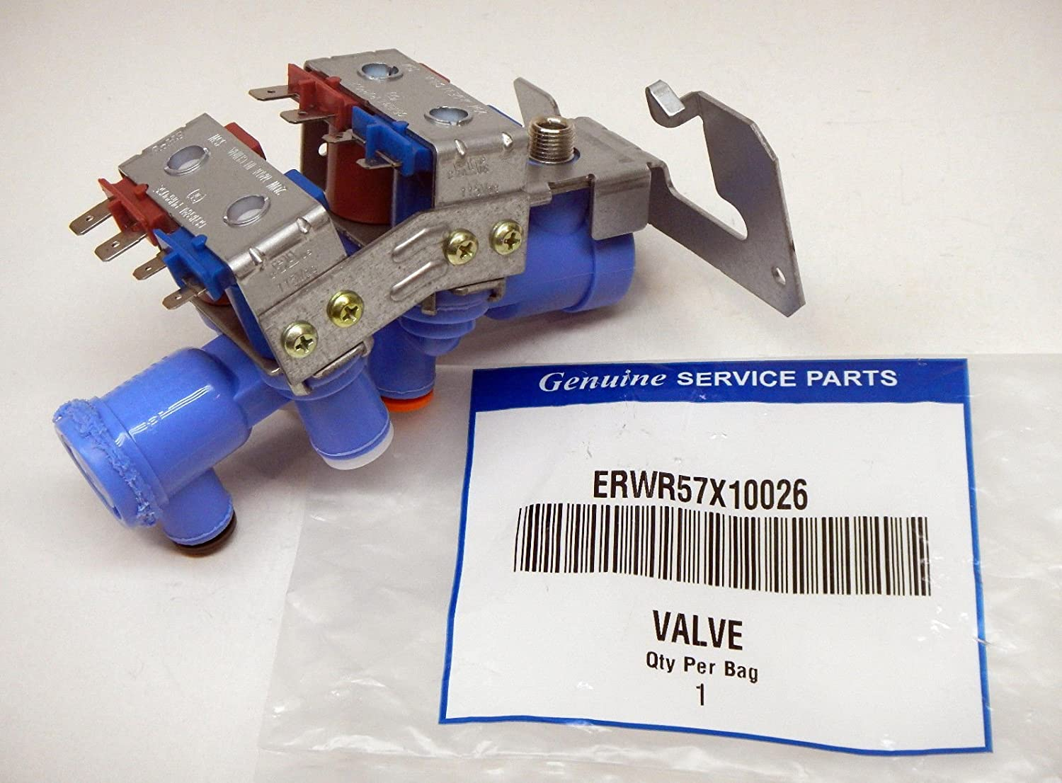 ERWR57X10026 for WR57X10026 GE Icemaker Water Valve Solenoid Model: