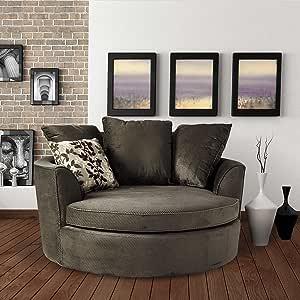 Asha Cuddler Chair Grey Amazon Ca Home Amp Kitchen