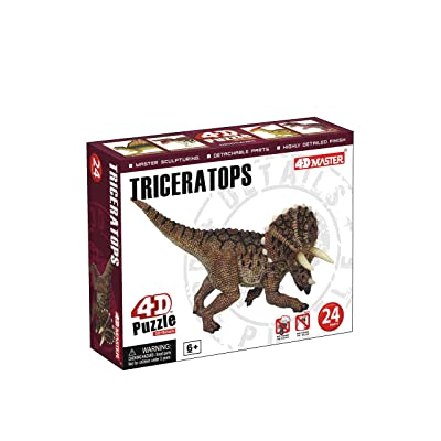 TEDCO Triceratops 4D Puzzle: Toys & Games