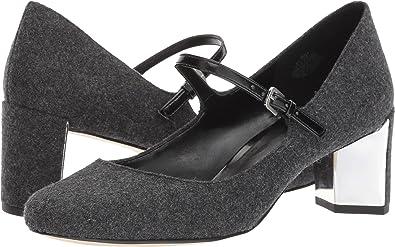 Nine West Women's Fadilla Light Grey/Black Shoe