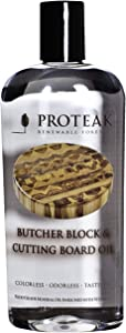 Proteak Teak 12 Ounce Cutting Board Oil