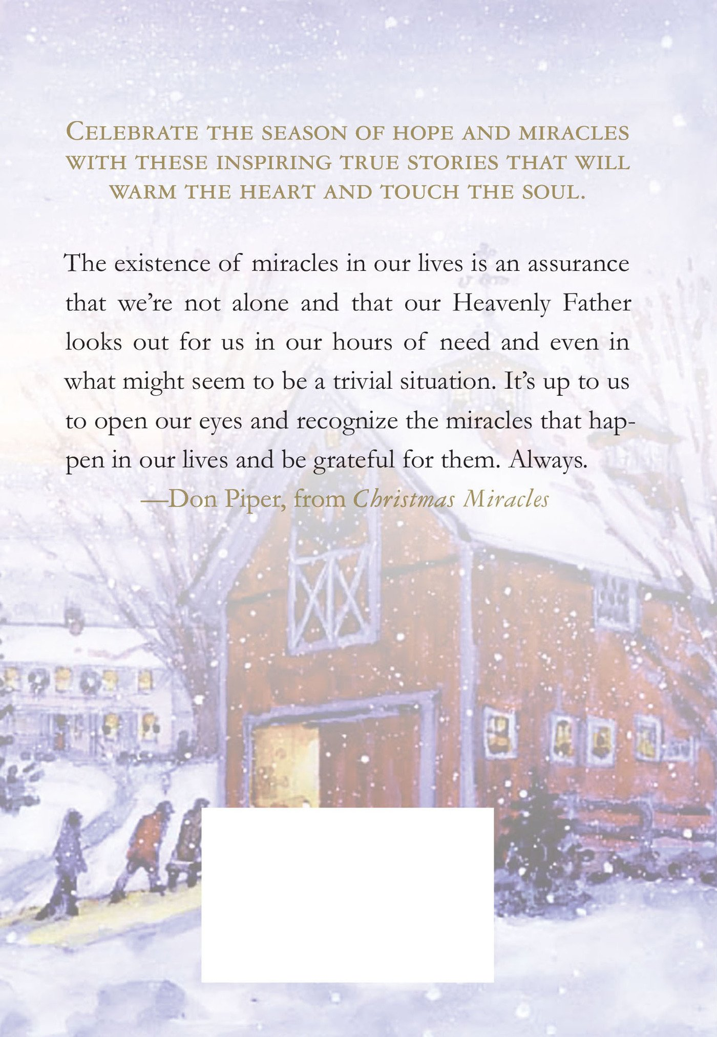 Christmas Miracles: Foreword by Don Piper, Author of 90 Minutes in ...
