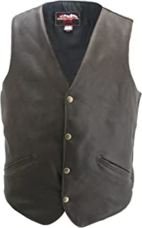 product image for Classic Vintage Leather Vest