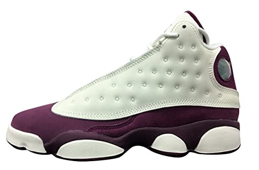 f56830929be9 ... Jordan Retro 13quot Bordeaux SailMetallic Red Bronze-Bordeaux (Big Kid)  ...