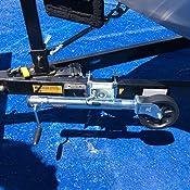 FULTON 1,500 lb Big Wheel Swivel Mount Trailer Tongue Jack #XP150101