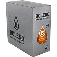 Bolero Bebida Instantánea sin Azúcar, Sabor Mandarina - Paquete de 24 x 9 gr - Total: 216 gr