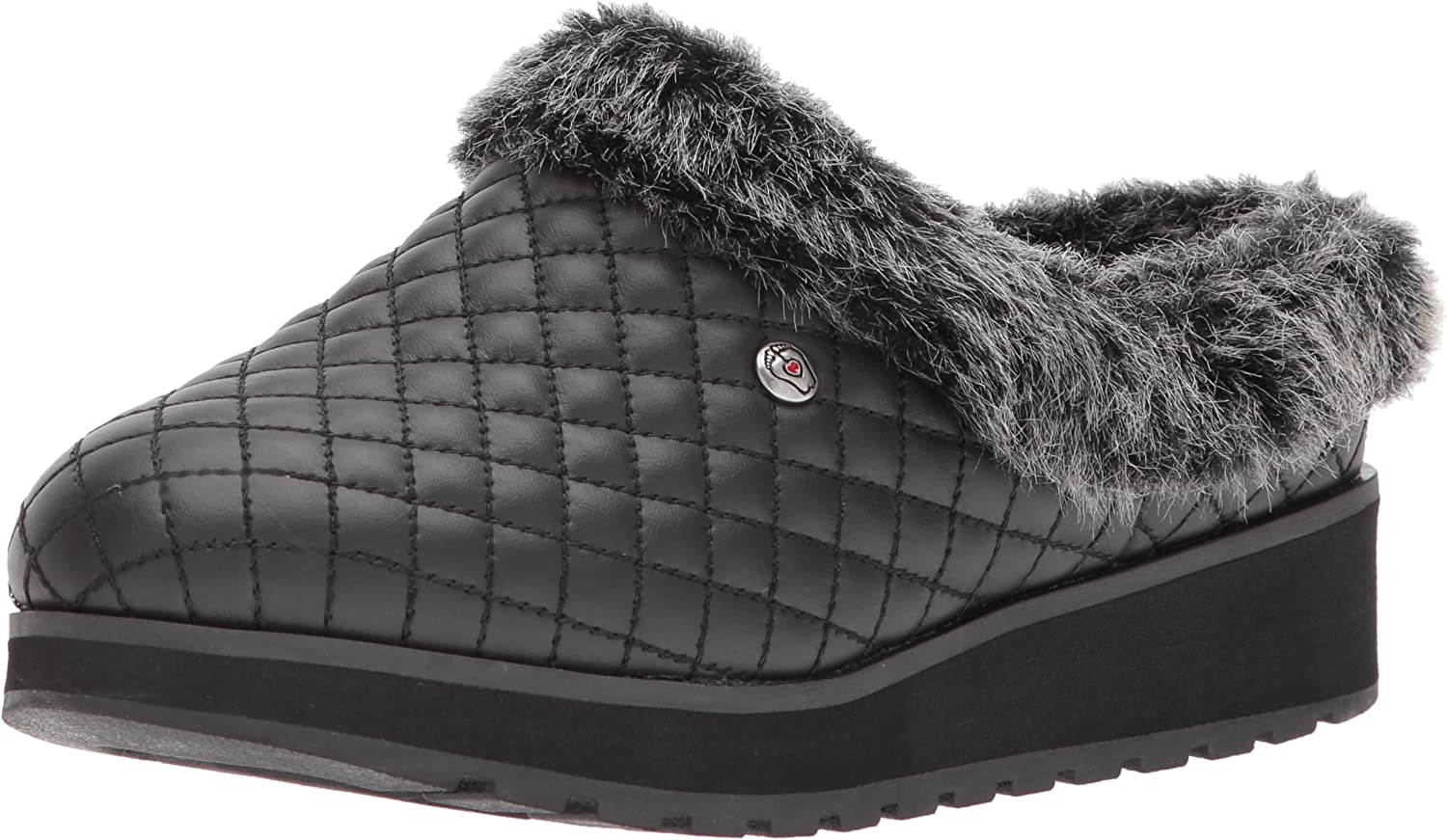 puerta papi Cerco  Amazon.com | Skechers BOBS Women's Keepsakes High-Quilted Clog | Mules &  Clogs
