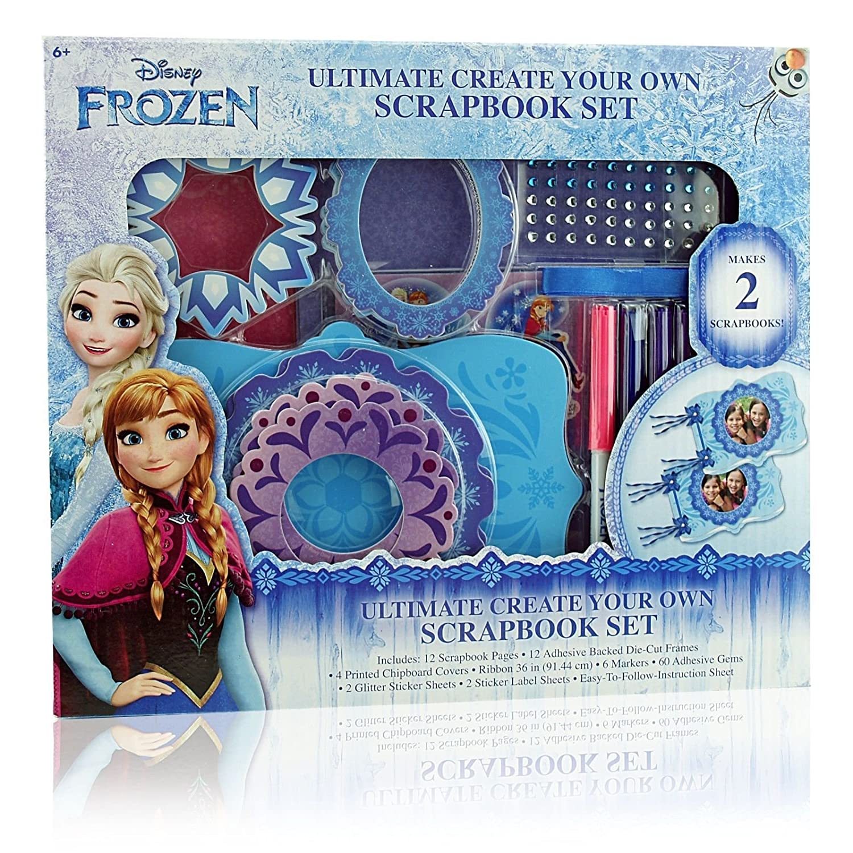 Create your own scrapbook - Amazon Com Disney Frozen Scrapbook Ultimate Create Your Own Scrapbook Set Toys Games