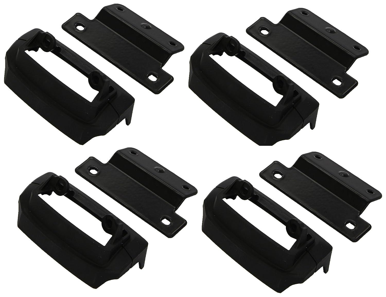 Thule 183118 Kit Adaptador Personalizado para Montar un Sistema de portaequipajes en veh/ículos seleccionados Negro /Única Set de 4