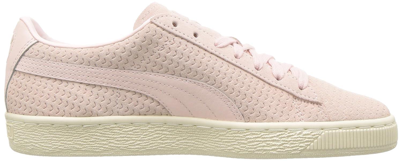 PUMA Women's Suede Classic Perforati WN's Sneaker B075RFYN9N 7 B(M) US|Pearl-whisper White