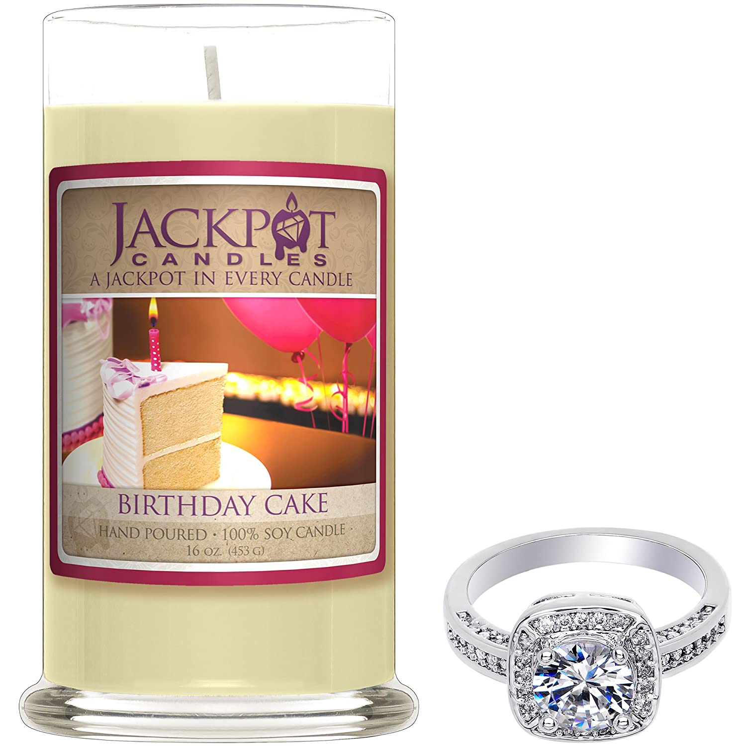Jackpot Candles Birthday Cake Candle With Ring Inside Surprise
