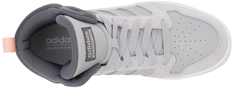 adidas Women's Cf Superhoops Mid W Basketball Shoes B01MQRQU32 8 M US|Grey Five/Grey Two/Ice Pink