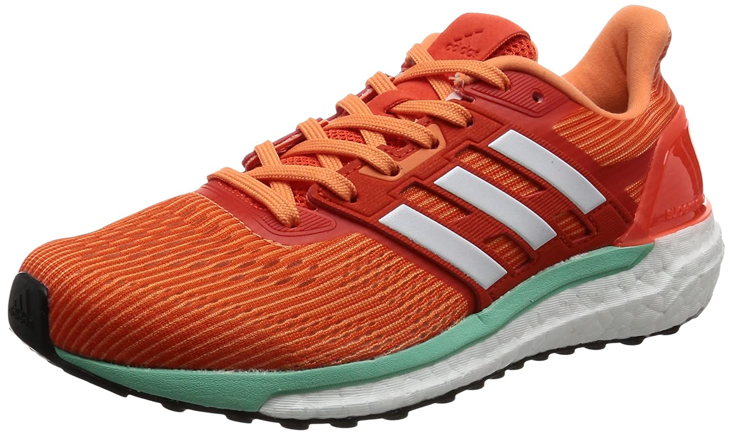 Adidas Damen Supernova Laufschuhe, Schwarz Orange (Energy / Footwear Weiß / Easy Orange)