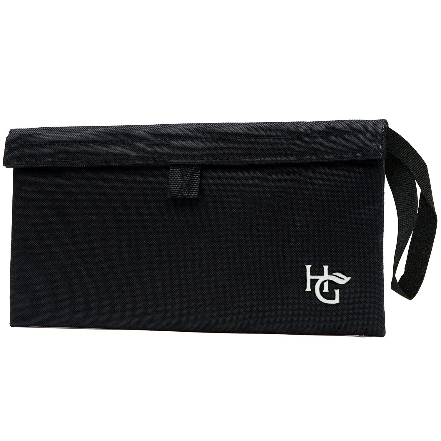 Herb Guard Premium Smell Proof Bag (11x6 inches, Holds 2 Ounces) - Comes with 2 Resealable Travel Bags to Store Herbs & Consumable Goods and Keep Them Fresh for Months