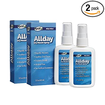 Allday 100% Xylitol-Sweetened Dry Mouth Spray