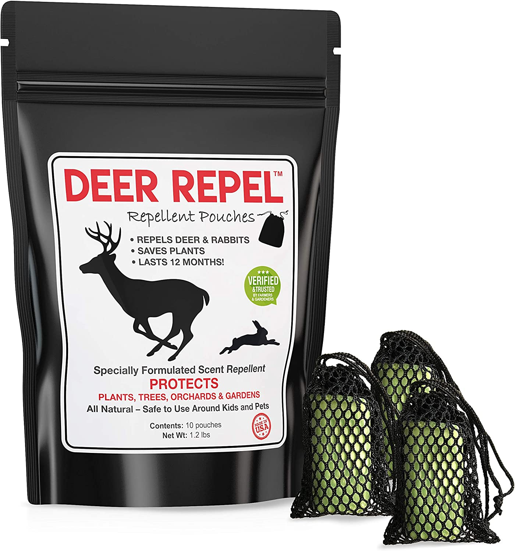 Deer Repel Deer Repellent Plants Pouches Stop Deer Rabbits Eating Plants Trees Gardens