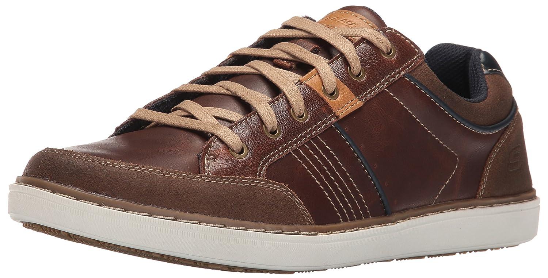 Skechers Lanson-Rometo, Zapatillas de Entrenamiento para Hombre 39 EU Marrón (Red/Brown)