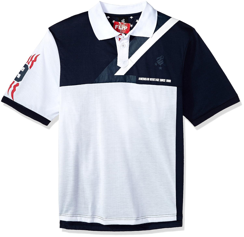 RocawearメンズBig and Tallバッジポロシャツ B0798MPB3M 5X Big|ネイビー ネイビー 5X Big