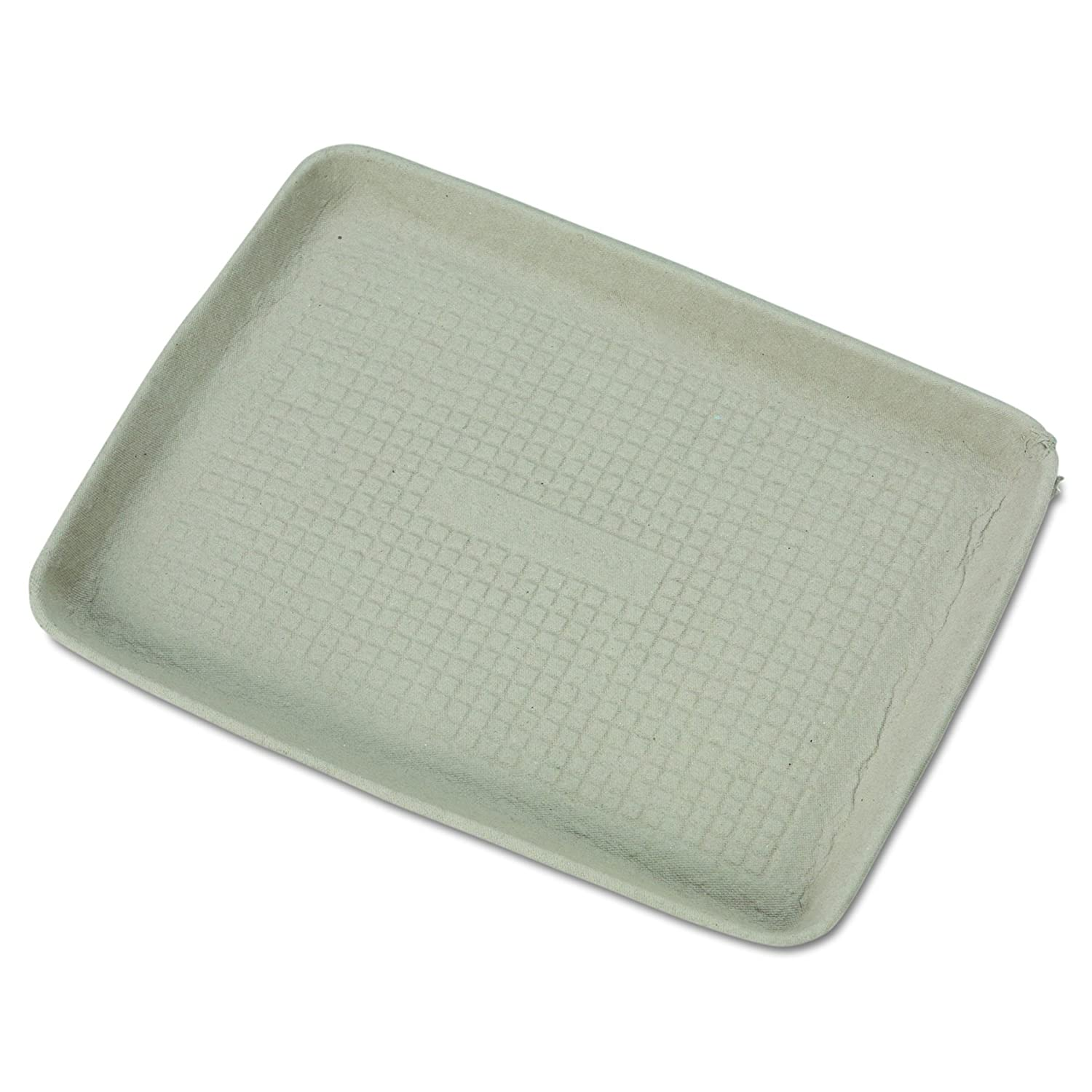 Chinet 20815 StrongHolder Molded Fiber Food Trays, 9 x 12 x 1, Beige, Rectangular (Case of 250) Huhtamaki HUH TUG