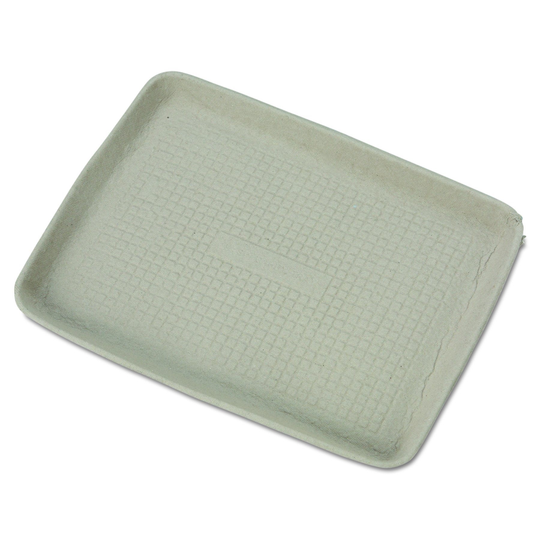 Chinet 20815 StrongHolder Molded Fiber Food Trays, 9 x 12 x 1, Beige, Rectangular (Case of 250)