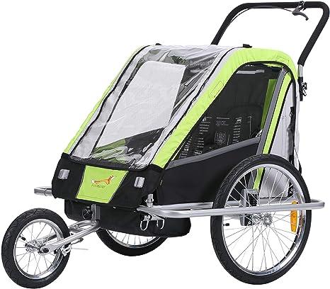 fixi Master Multifunktion 2 en 1 Remolque de bicicleta/Jogger Baby ...