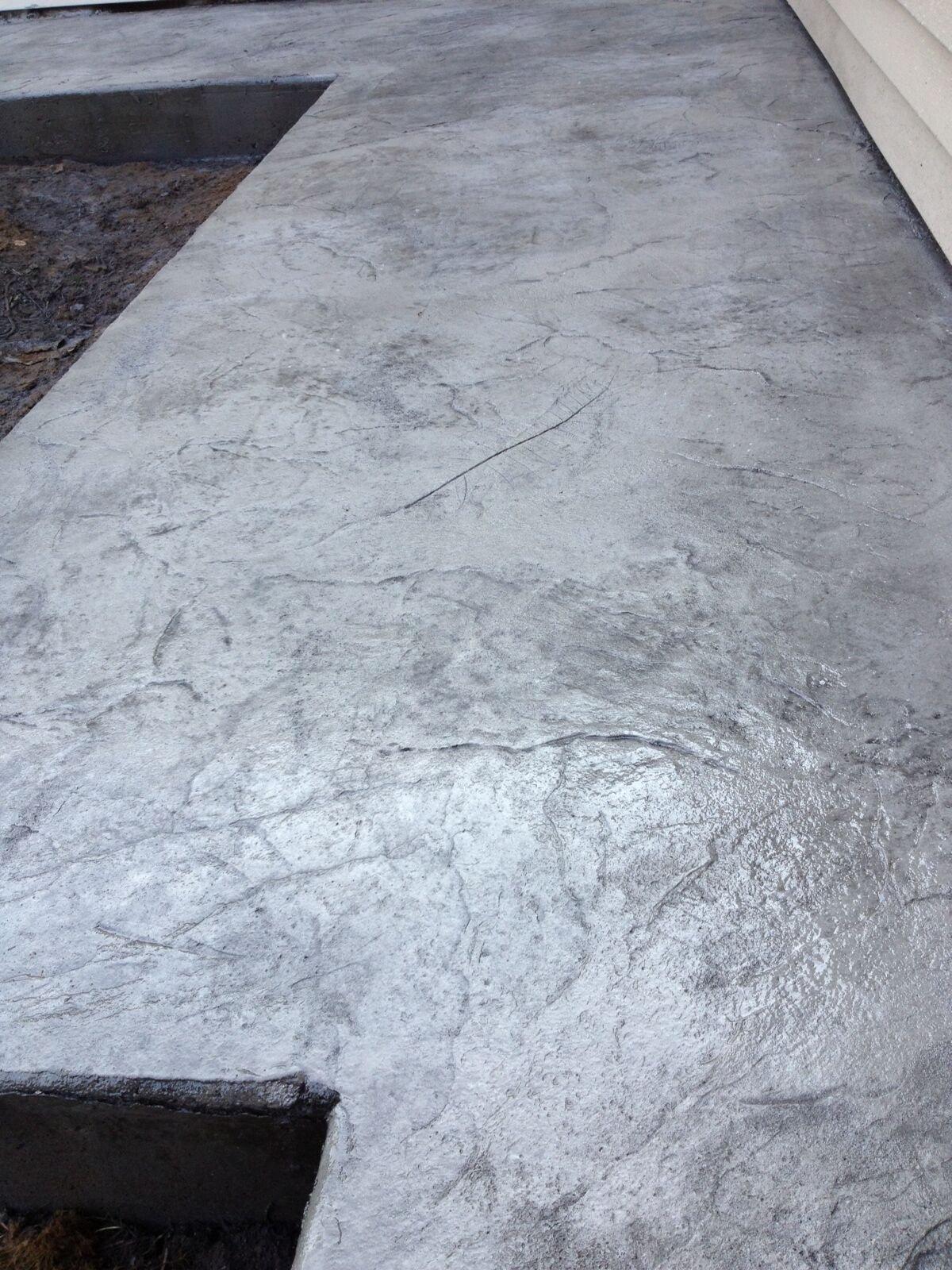 Light Quarry Stone Concrete Stamp Seamless Skin Texture Mat Set (6 piece)