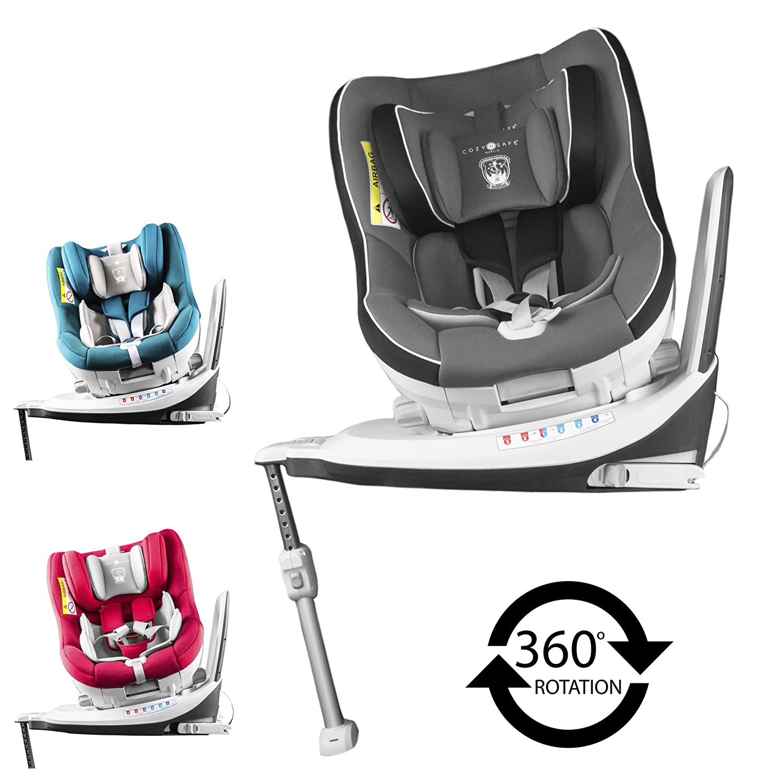 Cozy N Safe 360° Merlin Group 0+/1 Black/Grey Euro Stock Traders Ltd