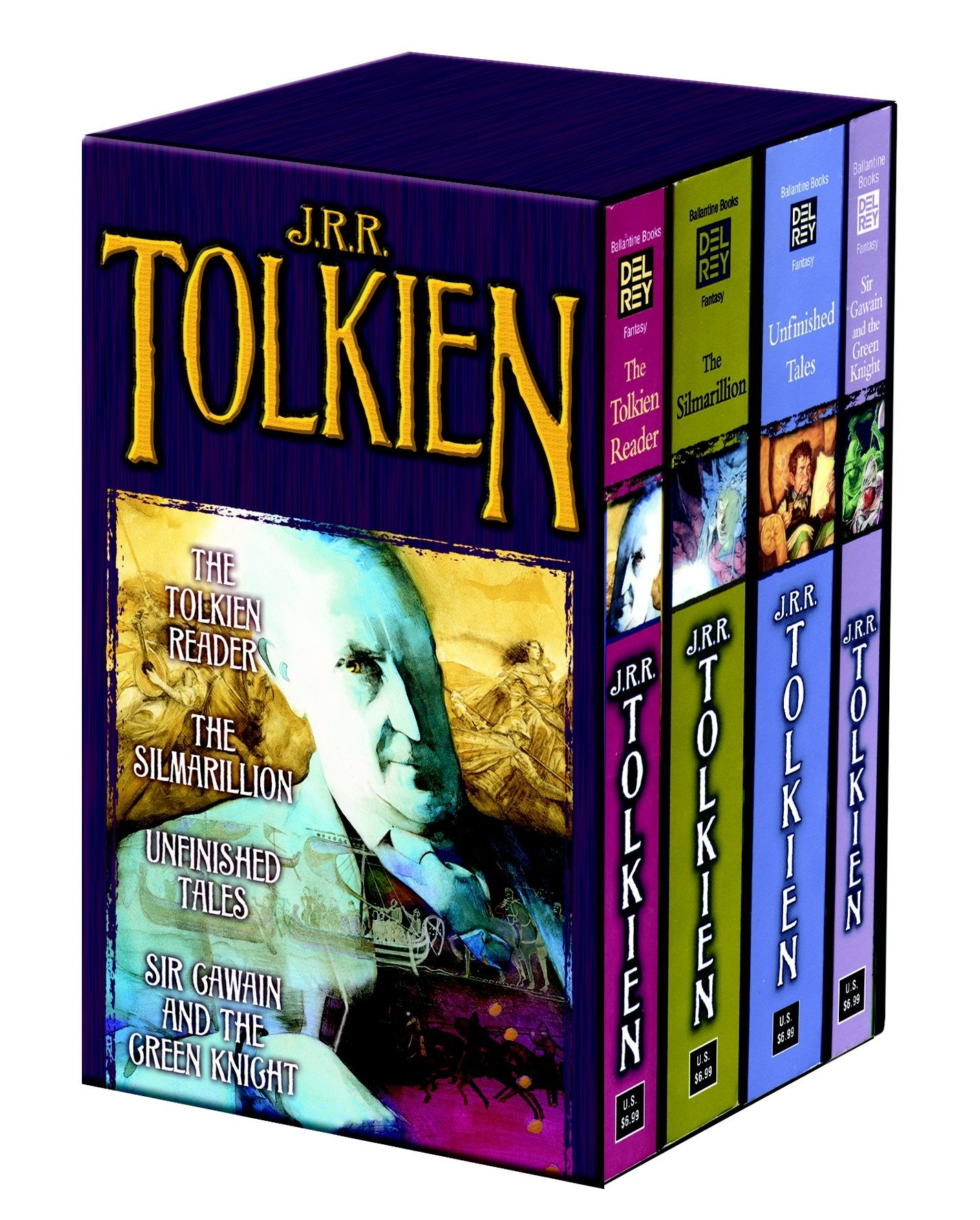 Tolkien Fantasy Tales Box Set (The Tolkien Reader/The Silmarillion/Unfinished Tales/Sir Gawain and the Green Knight) PDF