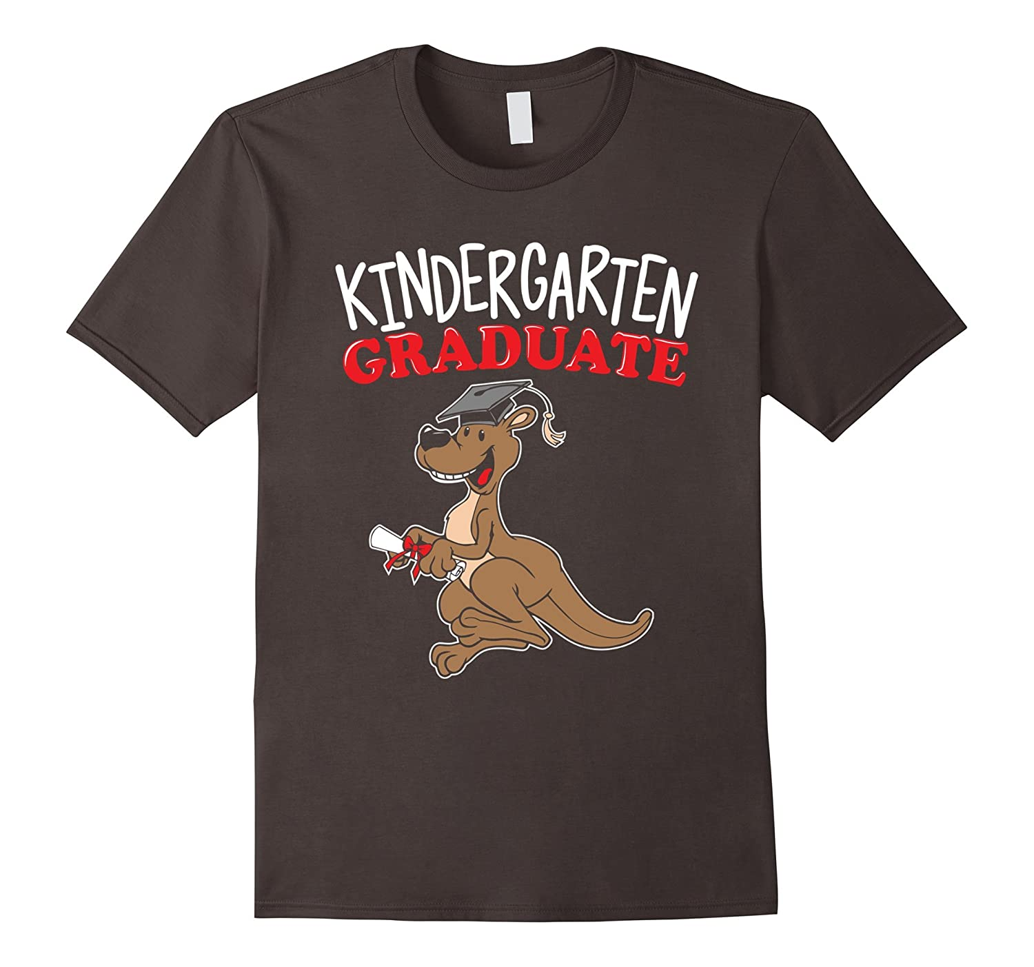 Kindergarten Graduation Shirt Son Daughter Kangaroo Kids-AZP