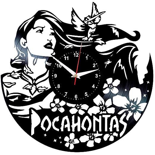 EVEVO Pocahontas Reloj De Pared Vintage Accesorios De ...