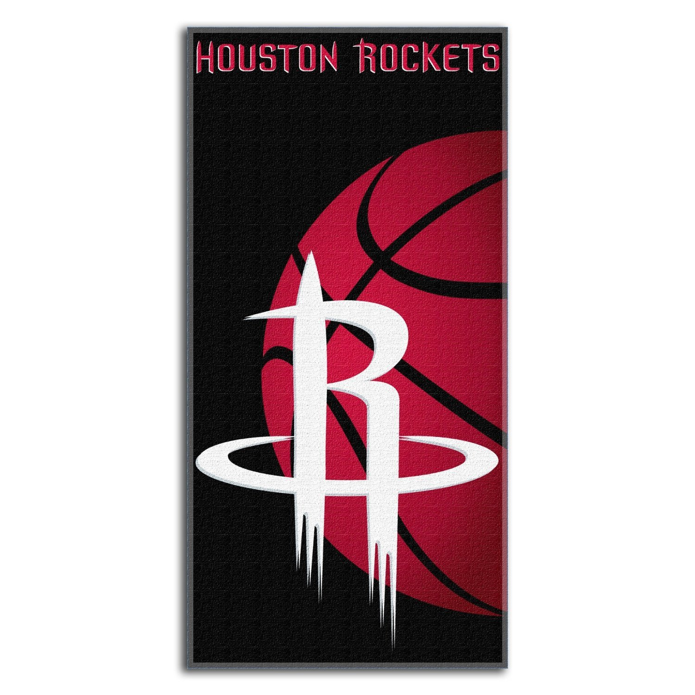 The Northwest Company NBA Houston Rockets Emblem Beach Towel, 30 x 60-Inch