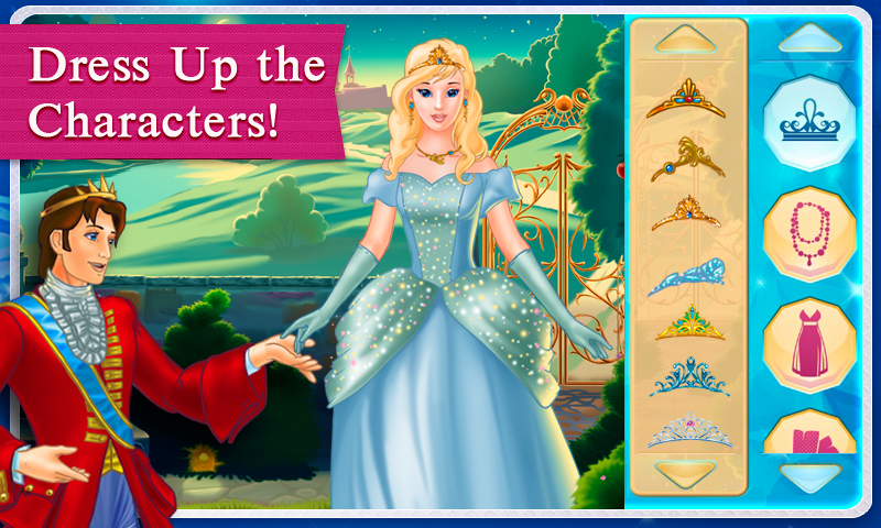 Amazon.com: Cinderella Dress Up Storybook & Games ...
