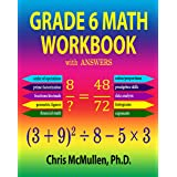 Grade 6 Math Workbook with Answers (Improve Your Math Fluency)
